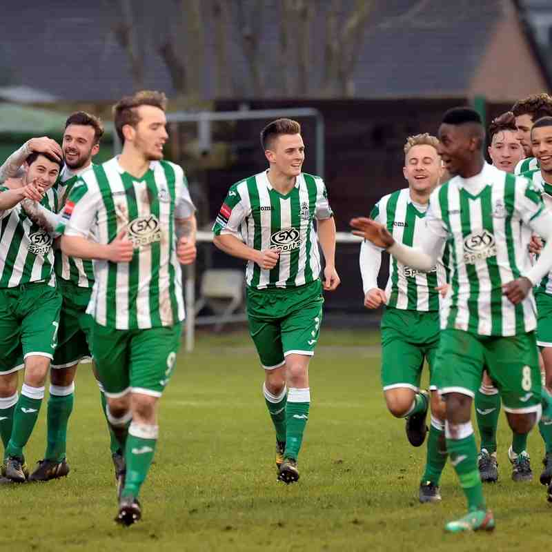 Rovers 3  Waltham Abbey 2 - 13th February 2016. (For full set of match photos visit https://www.flickr.com/photos/gwroversfc/albums/72157662337901414)