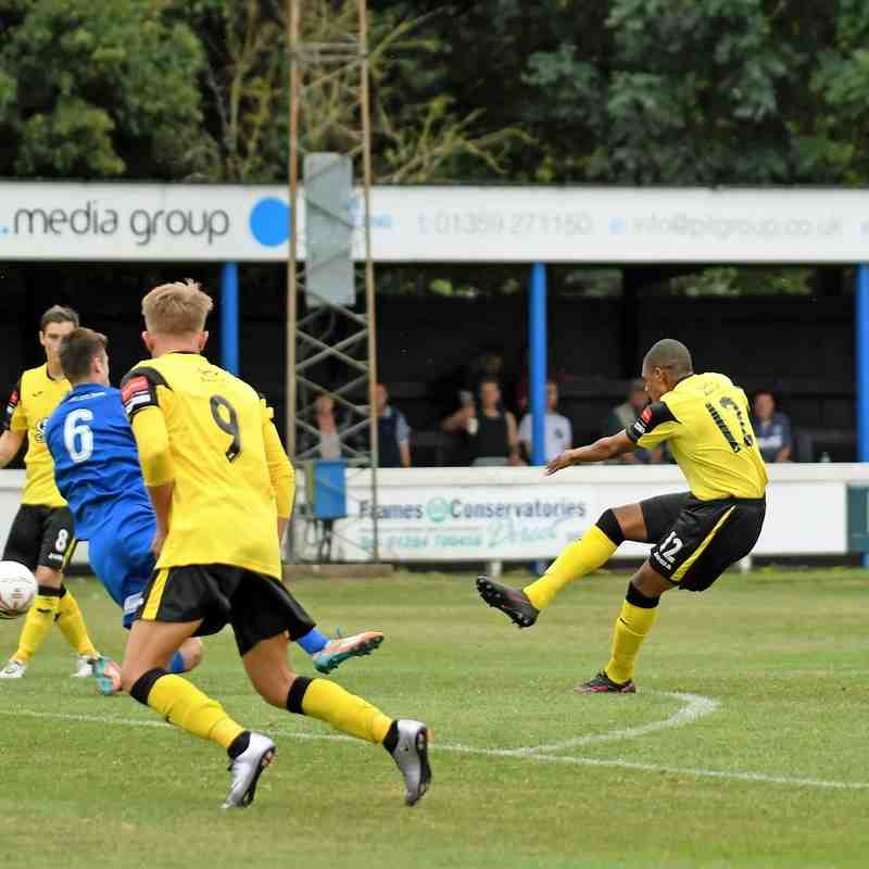Bury Town 1 Rovers 1 - 27th August 2016 (For full set of match pics visit https://www.flickr.com/photos/gwroversfc/albums/72157669906837504)