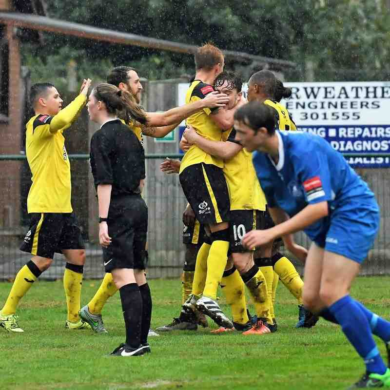 Wroxham 1 Rovers 3 - 1st October 2016 (For full set of match pics visit https://www.flickr.com/photos/gwroversfc/albums/72157673451675381)