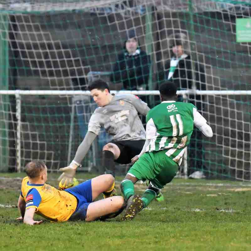 Rovers 2 AFC Hornchurch 5 - 11th February 2017 (For full set of match pics visit https://www.flickr.com/photos/gwroversfc/albums/72157676742822463/with/32051072513/)