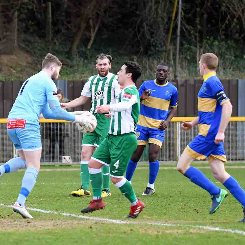 Romford 2 Rovers 1 - 4th March 2017. Ryman Division 1 North. (For full set of match pics visit https://www.flickr.com/photos/gwroversfc/albums/72157679216401201)