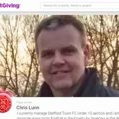 Support Chris!