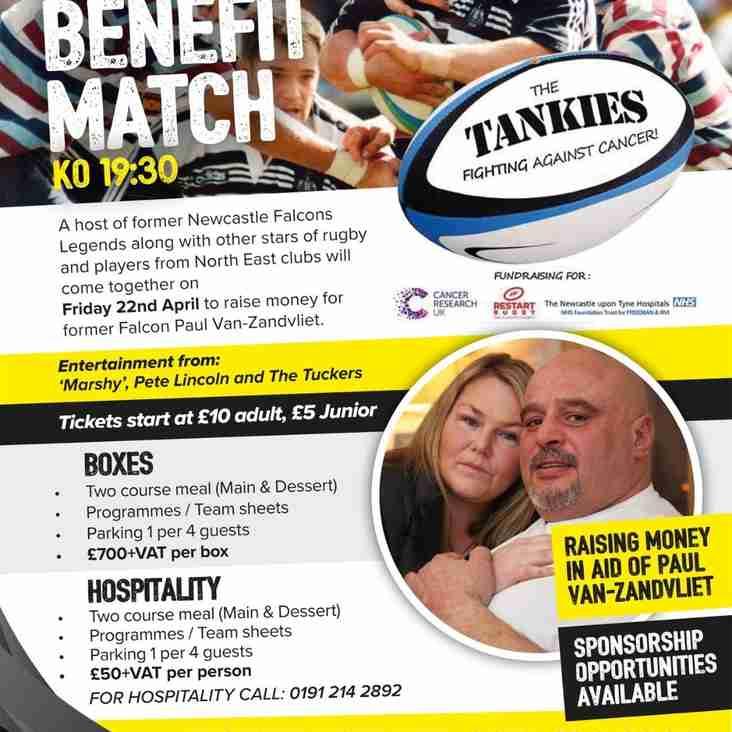 Tanks Charity Match