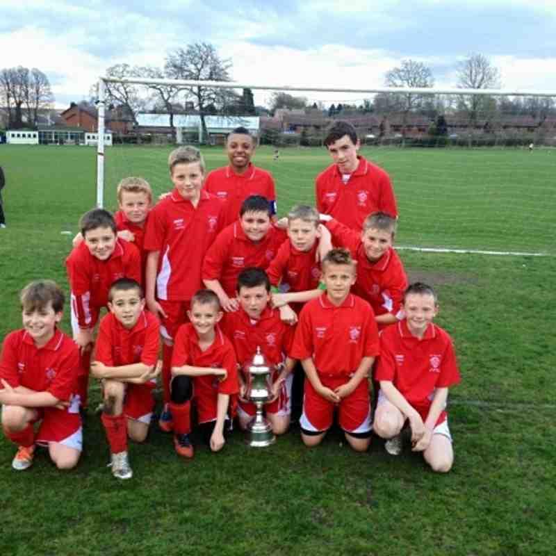 Stourbridge FC Juniors under 11s 2012/13 season