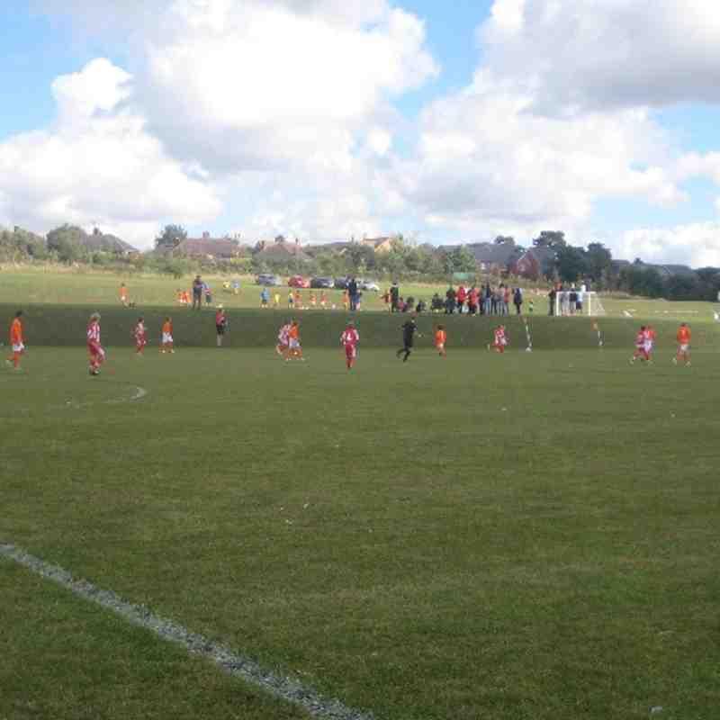 Rugby Town Juniors v Stourbridge Juniors Match shots 7/9/13 MJPL