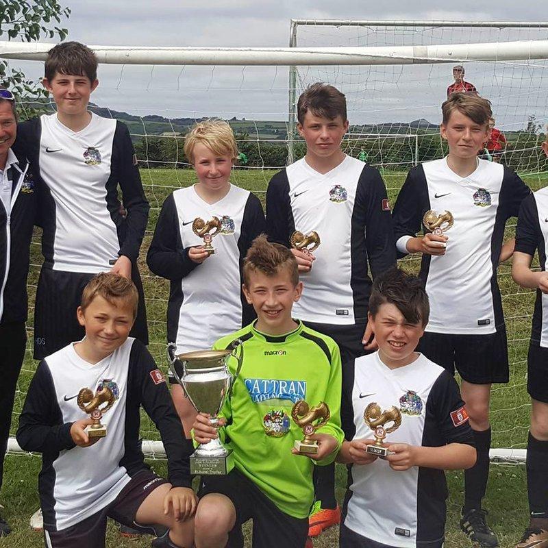 Penzance U13 Asteroids Win The 2017 Charlestown Tournament