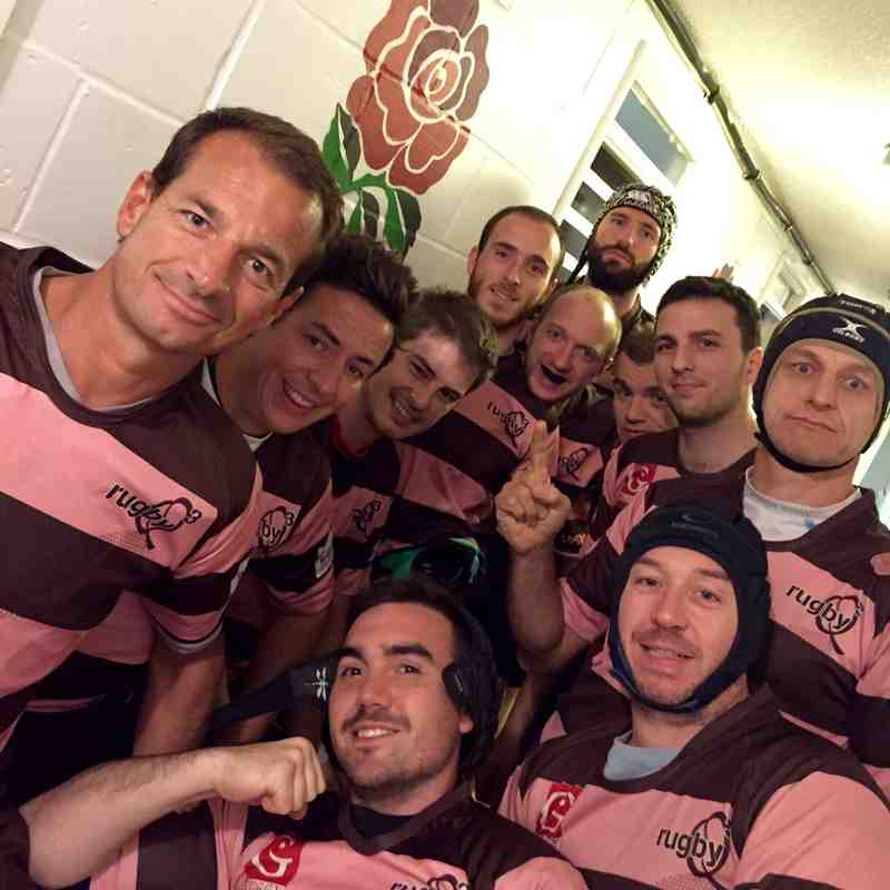 Chinnor Vets v Rugby Q (Paris) - photos supplied by Rugby Q