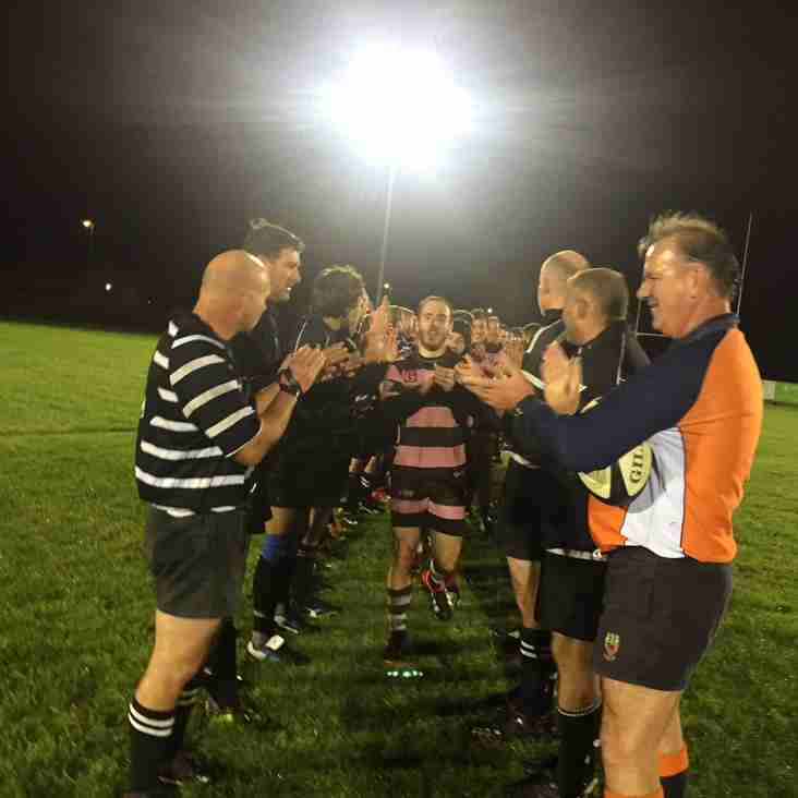 Colts training cancelled but Vets KO 7.30pm v RAF Vets
