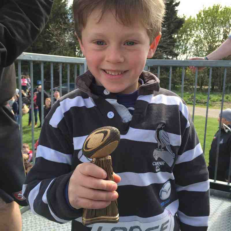 u7 Most improved player - Olly Usher