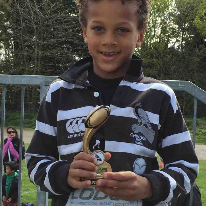 u8  Player of the season - Raphie London
