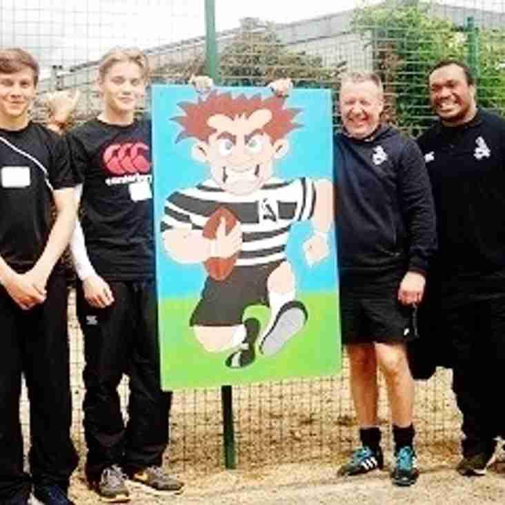 Chinnor RFC working alongside local charity Thomley
