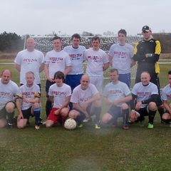 Dave Shaw charity football match.