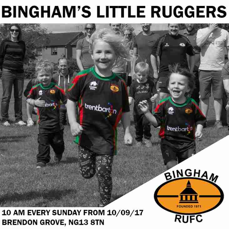 Little Ruggers restarts 10/09/17