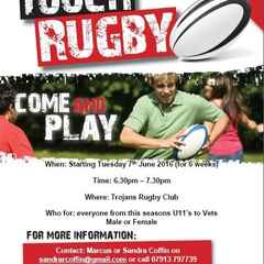 BBQ - Summer Touch Rugby 12th July