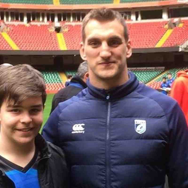 Current Welsh Rugby Union captain Sam Warburton