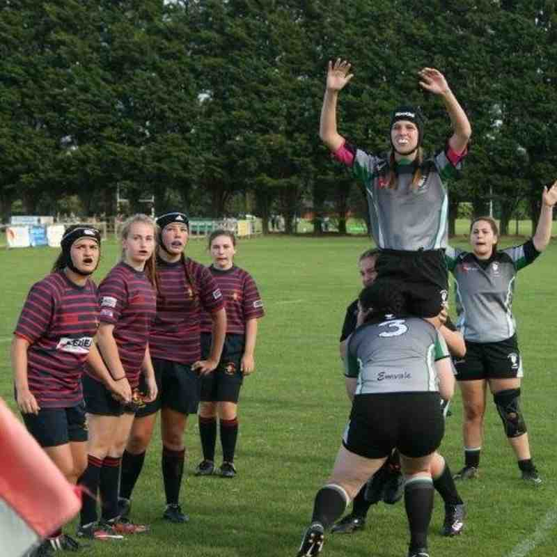 Trojans Girls U15 v Reading-Newbury Girls U15 (25-09-2016)