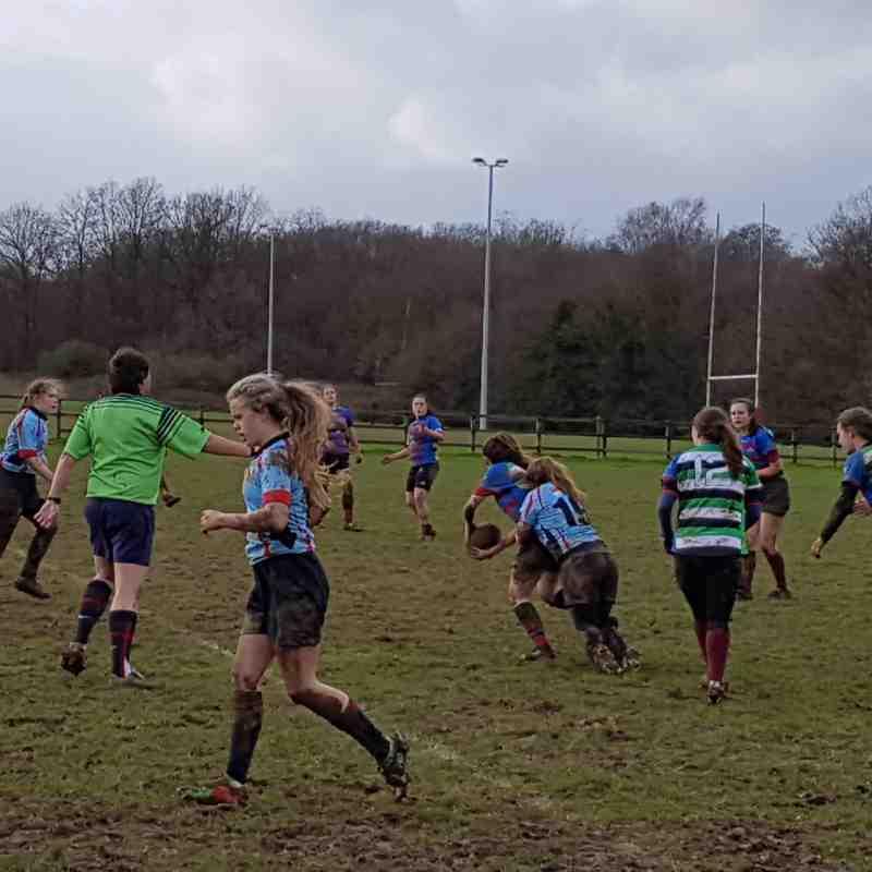 Trojans U18's Girls v Chesham 05-03-17