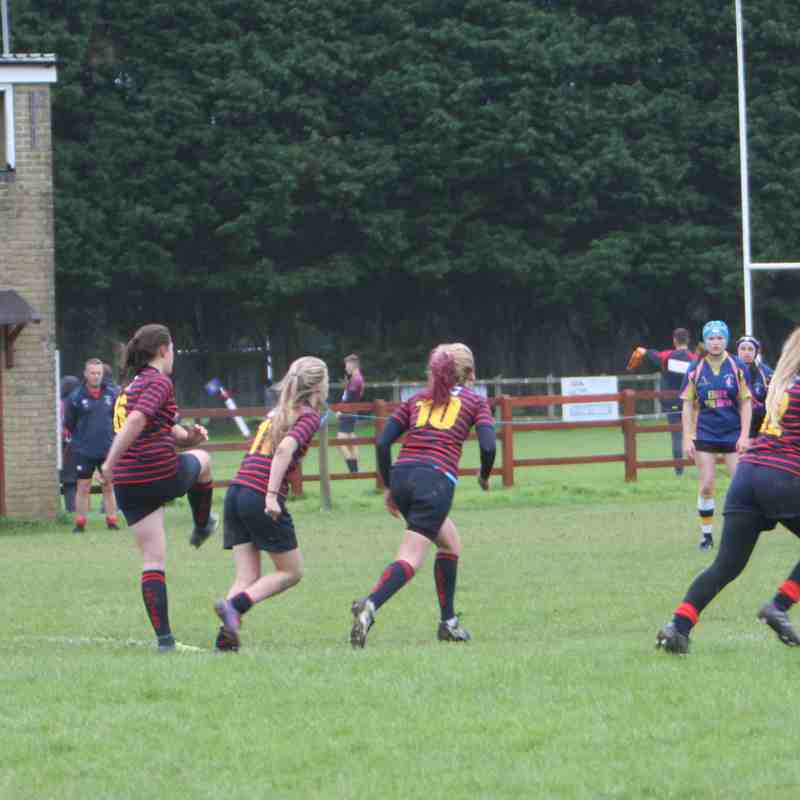 Trojans Girls U18s v E&R 10th September 2017