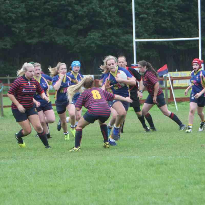 Trojans Girls U18s v E&R 10th September 2017