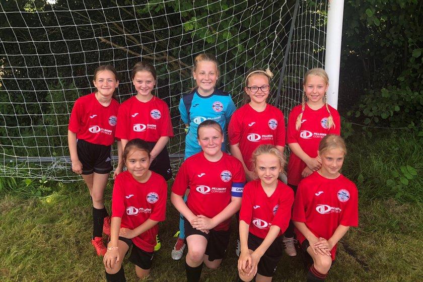 U10 Girls do well at Oakwood Tournament