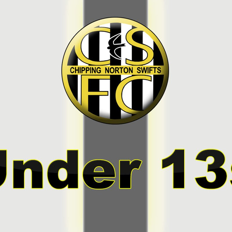 Under 13's lose to Carterton Town 9 - 2