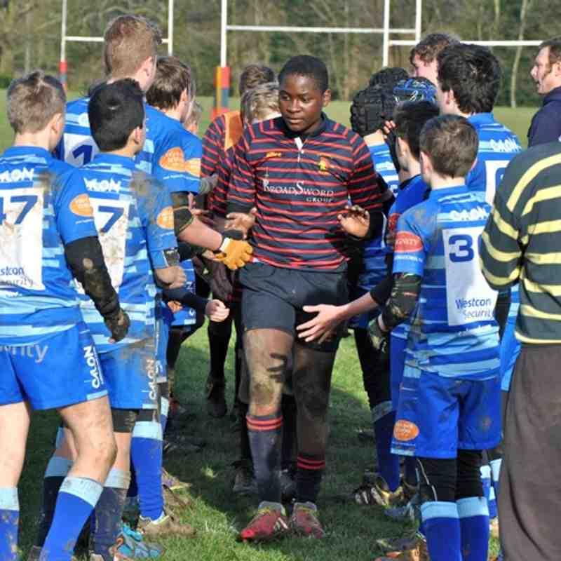 Trojans U13's Red & Blue Squads v Farnborough 11-01-15