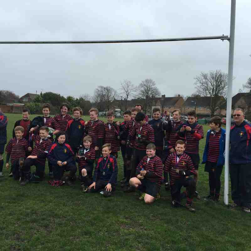 Trojans U13's - Shield Final v Tottonians