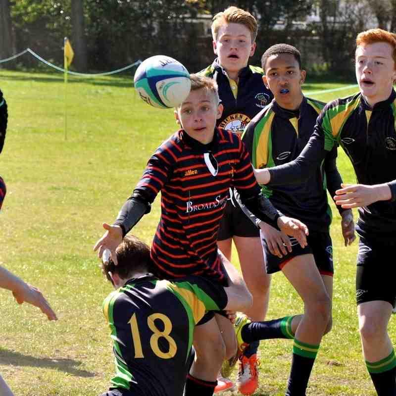 Trojans U13's New Milton 7's Tournament