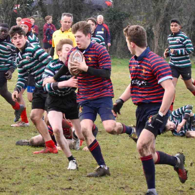 Trojans U15's Chiefs v Oxford 5th February 2017