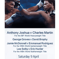 Watch live World Title boxing at N&B RFC