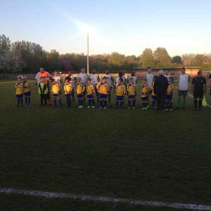 Bedfont & Feltham v Staines Lammas 16.04.14 Middlesex Premier Cup Final