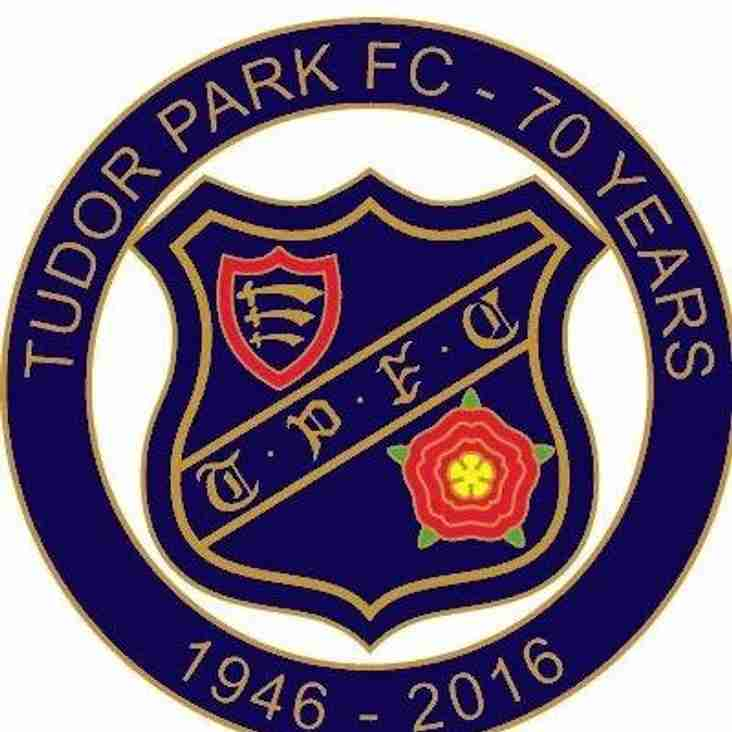 Welcome to the Tudor Park FC website.