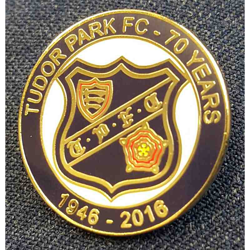 Tudor Park Commemorative Badge