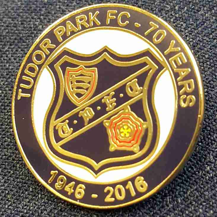 Tudor Park Commemorative Badges