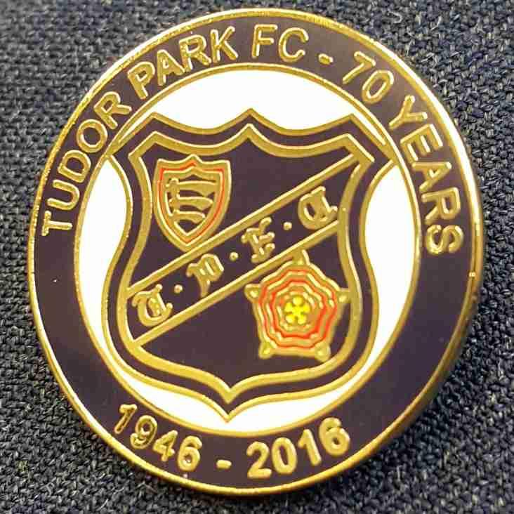 Tudor Park Commemorative Badges