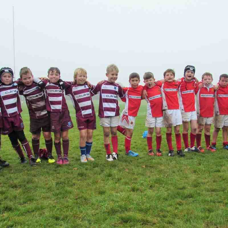 Under 9s Success at Newport