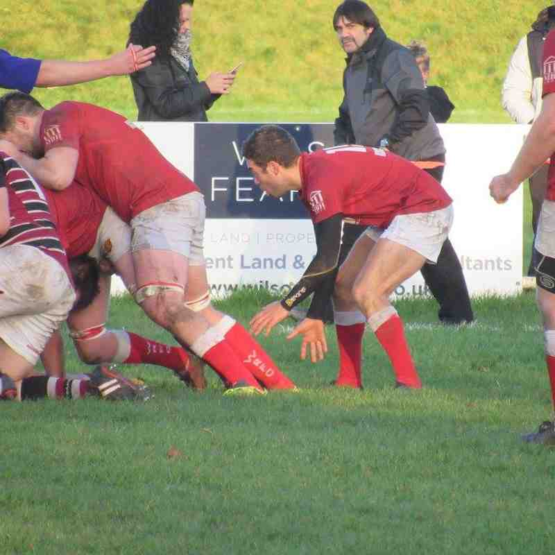 Whitchurch 36 v Tamworth 14 Sat 4th Nov 17