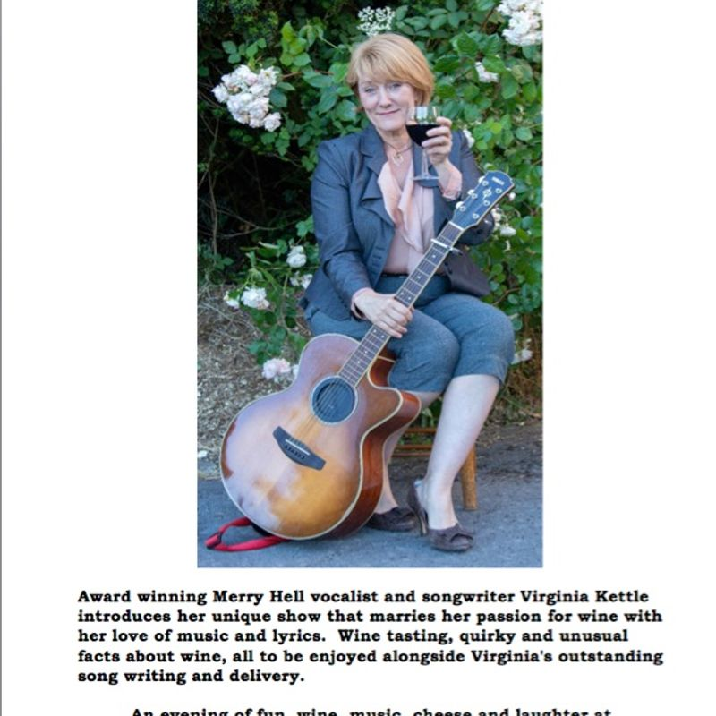 Wine Woman & Song Friday 22nd February 2019 at 7.30pm