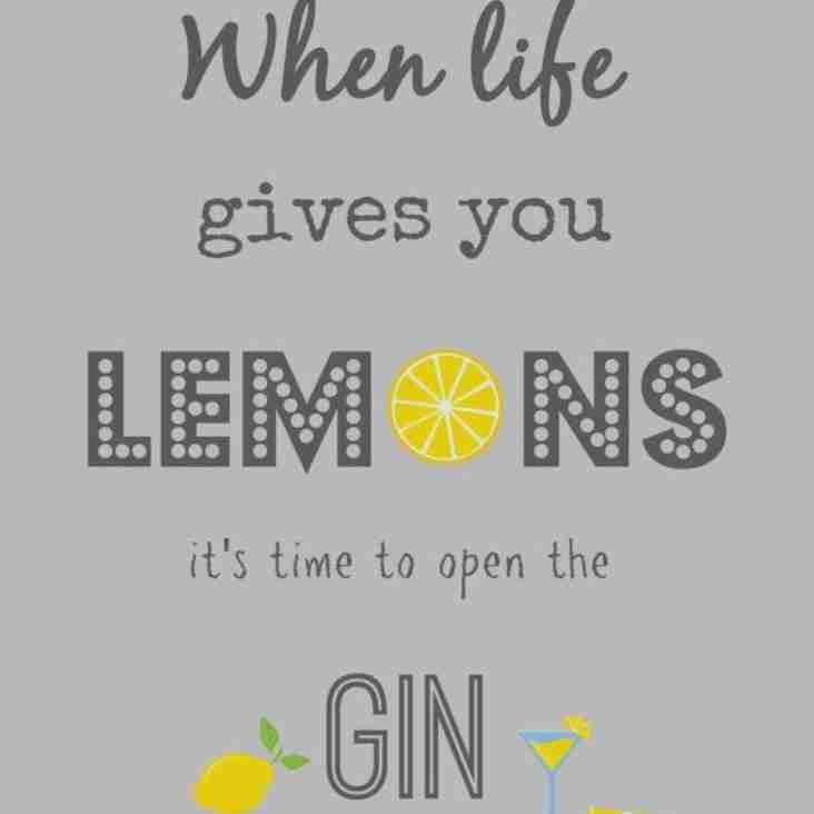 Gin Night Saturday 9th March 2019 from 7pm