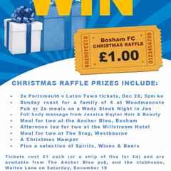 Christmas Raffle - In It To Win It!