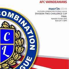 AFC Varndeanians - Cup Final - Programme