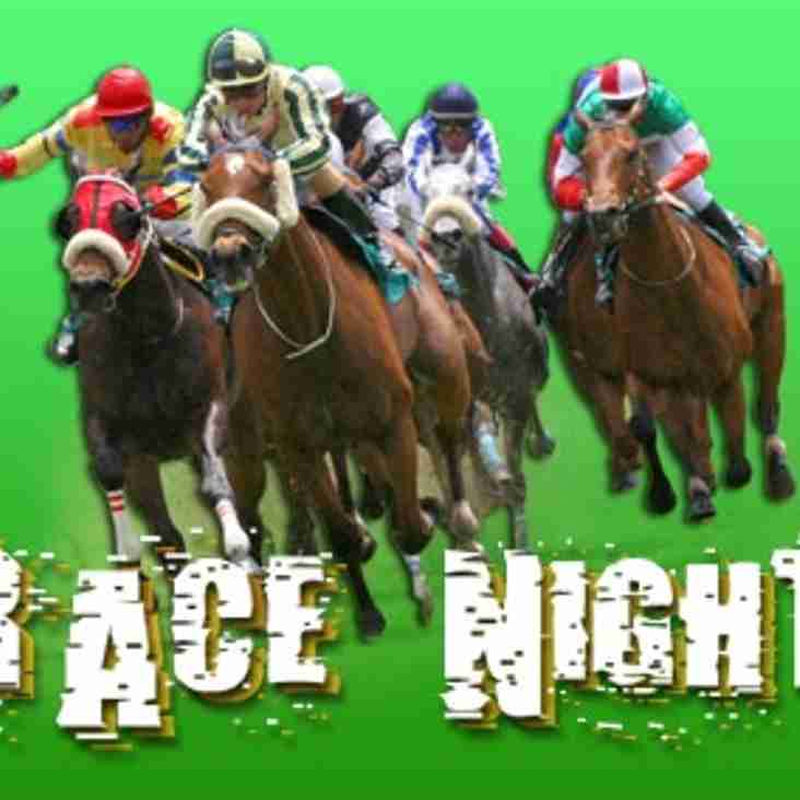 Race Night - March 9, 5.00pm