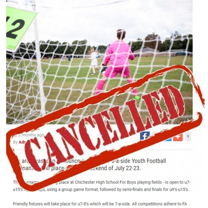 Youth Tournament - Cancelled