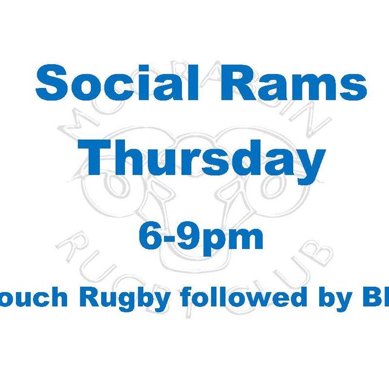 Social Rams Thursday