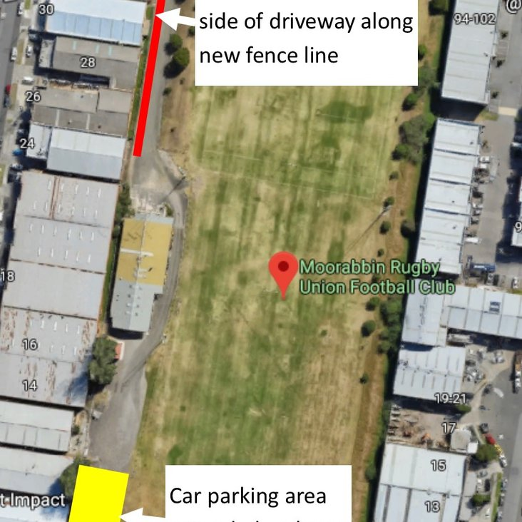 Car Parking at Harold Caterson Reserve<