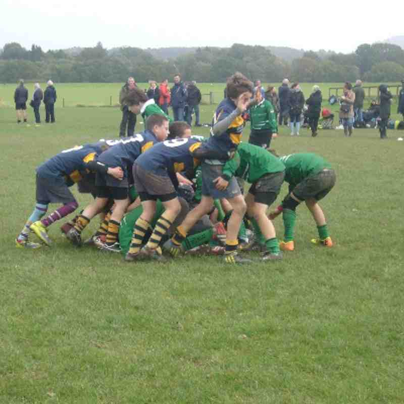 U12s at Landrover Competition at Pulborough RFC 27 October 2013