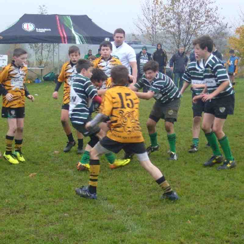 U12s at London Irish Landrover Festival 17 November 2013