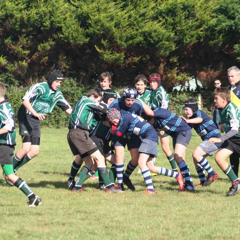 U13s at Chichester RFC 5 October 2014
