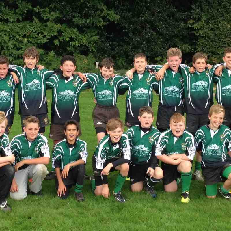 U13s 2014 Squad Picture