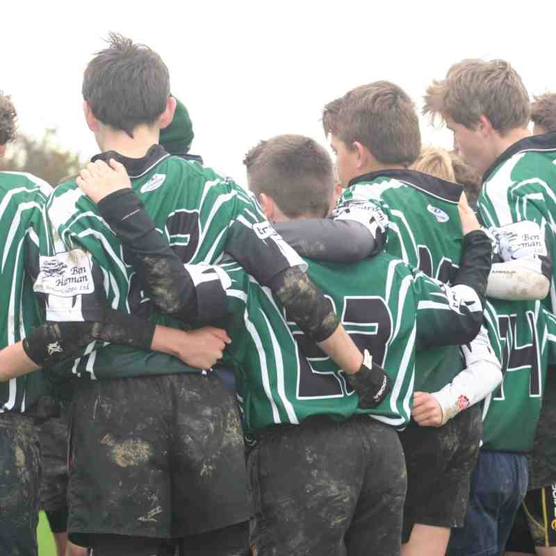 U13s host TWRFC 26 October 2014